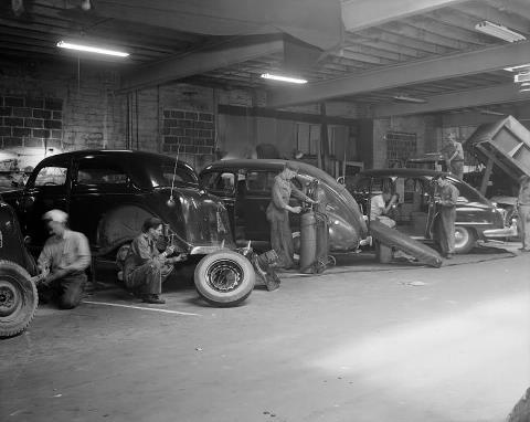 Mundo Automotivo Oficinas Antigas
