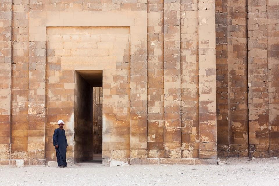 Dzsószer fáraó halotti komplexumának bejárata