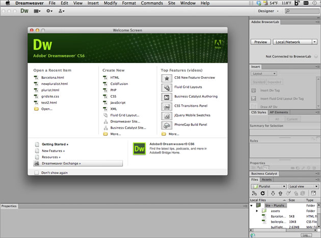 serial number dreamweaver cs6