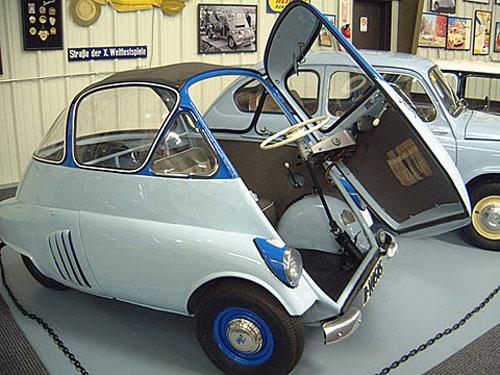 micro carros - microcars - Iso Isetta