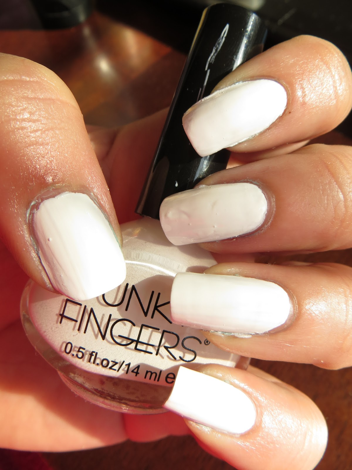 Beautometry: Swatch: Funky Fingers Gesso