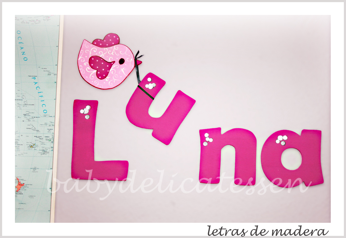 Baby delicatessen letras para luna - Letras de nombres para decorar ...