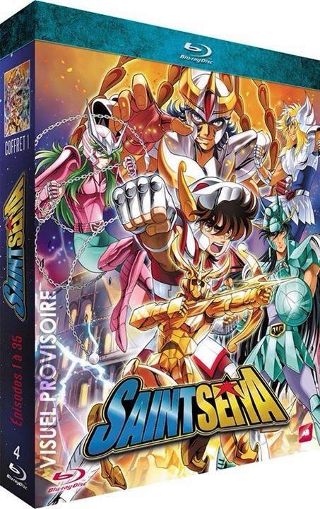 Saint Seiya, Blu-ray, Actu Japanime, Japanime,