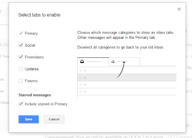 Google Introduces New Gmail Tabs: How To Use Them? - Figure 3