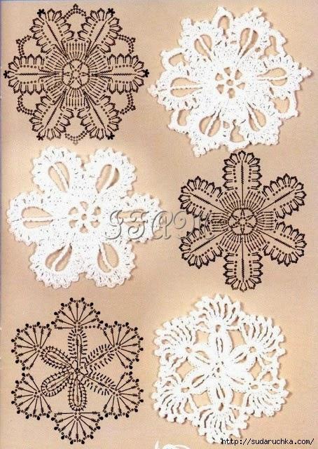 Crochet and arts: Interesting motifs