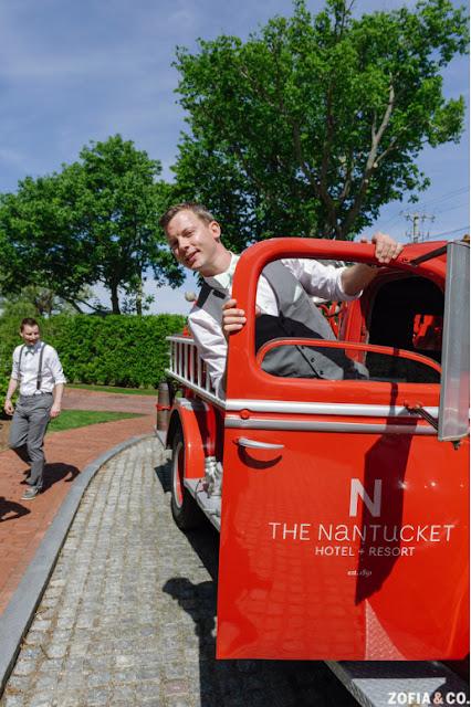 Nantucket Hotel Firetruck