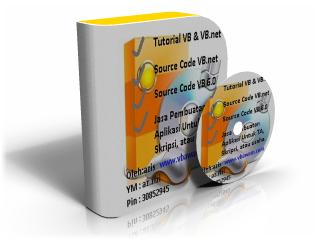 Tutorial vb 6 dan vb.net untuk orang awam vb basic menyediakan program vb, source code vb, tutorial vb dan vb.net, contoh program vb 6.0 dan vb.net untuk tugas akhir / skripsi