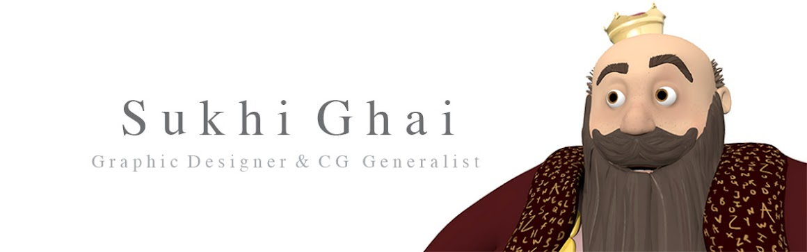 Sukhi Ghai - Graphic Designer and CG Generalist