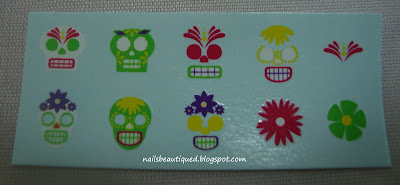 OPI So So Skullicious Collection Skull Decals