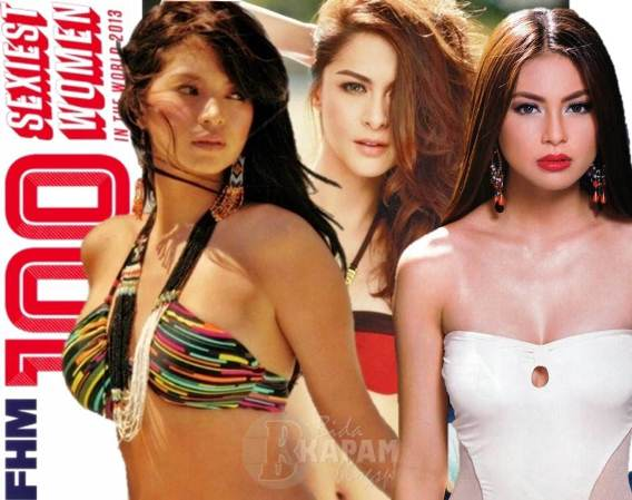 Sam Pinto Overtakes Angel Locsin in FHM 100 Sexiest 2013; Marian Rivera Still on Top