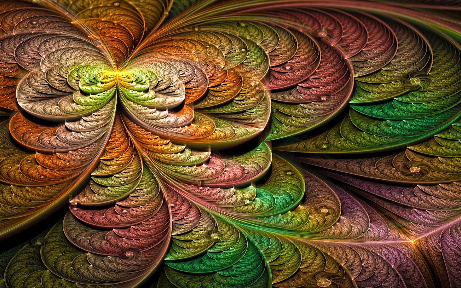 Art Design Ideas : Hd abstract fractal pattern latest art collection free
