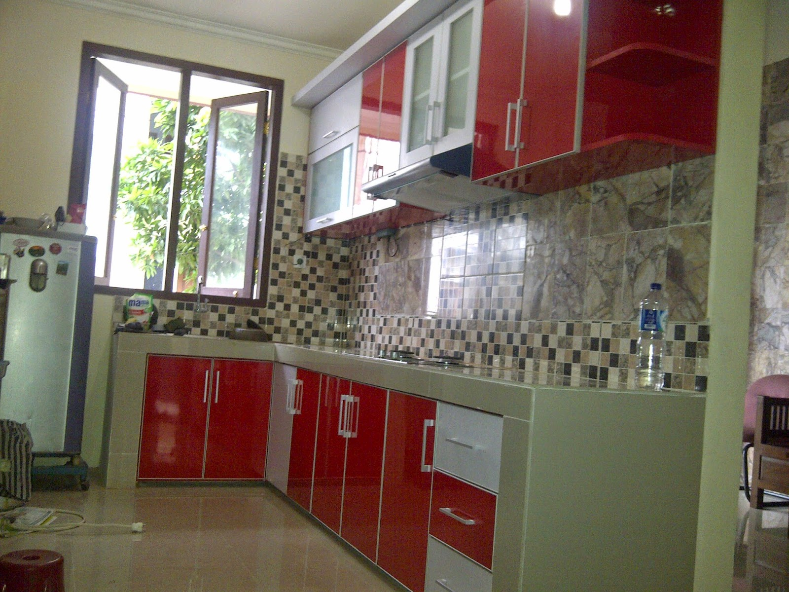 Jasa kitchen set for Harga kitchen set per meter