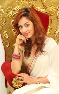 Actress Vidisha Srivastava Latest Pictures in Saree at Harinath Wedding Reception  11.jpg