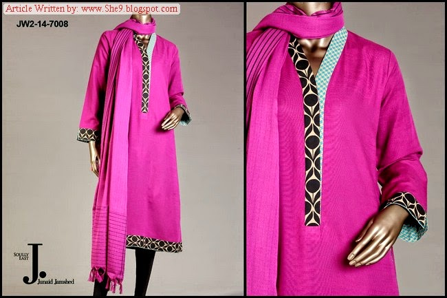 Junaid Jamshed Winter Pret Collection