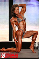 Sheila Bleck Ripped 2012 Pro Female Bodybuilding Content On Muscular Development