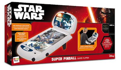 TOYS : JUGUETES - STAR WARS - Super Pinball El Despertar de la Fuerza - The Force Awakens Producto Oficial Disney 2015   IMC Toys 720251   A partir de 6 años Comprar en Amazon España