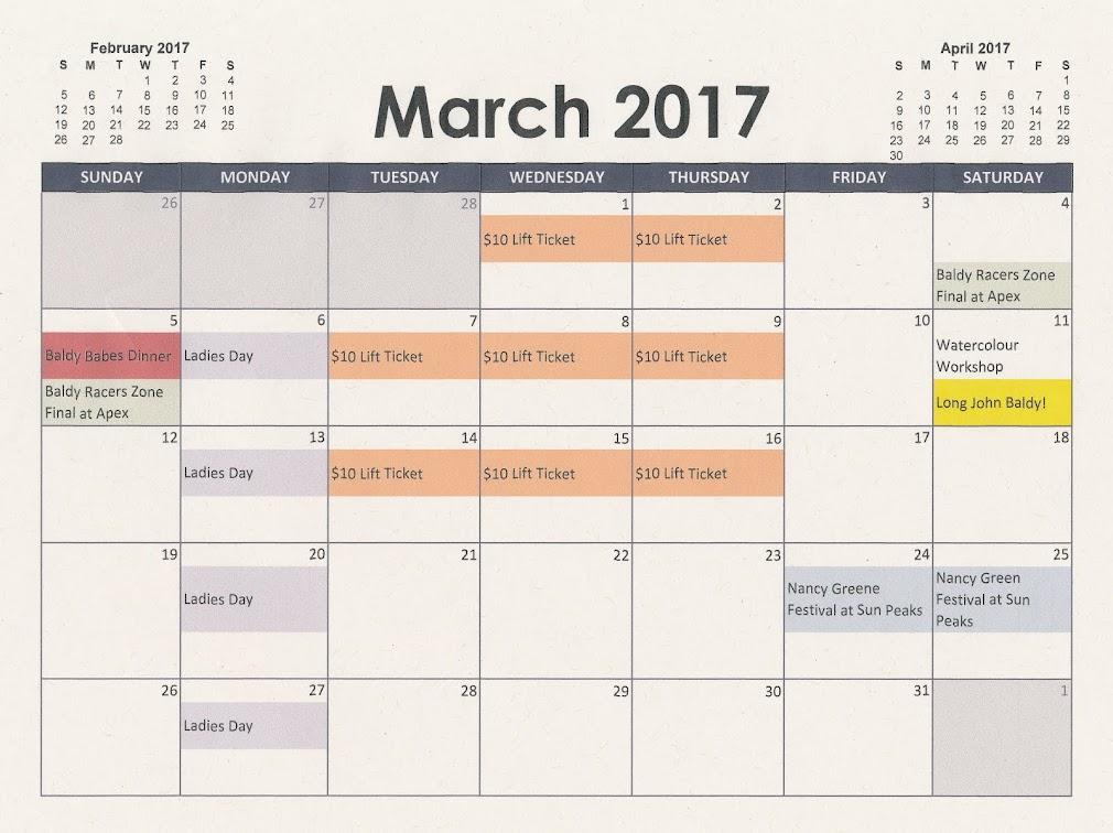 Events Calendar 2