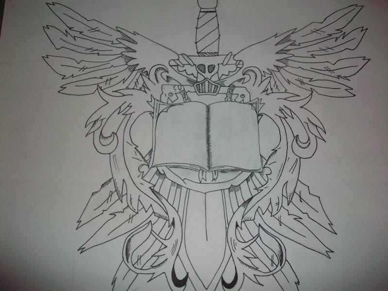 First ever tattoo designs by me title=