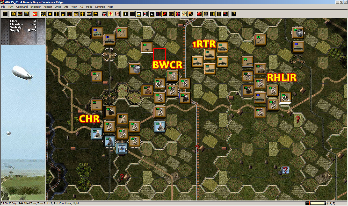 real and simulated wars panzer battles normandy aar part 1 with our backs to caen. Black Bedroom Furniture Sets. Home Design Ideas