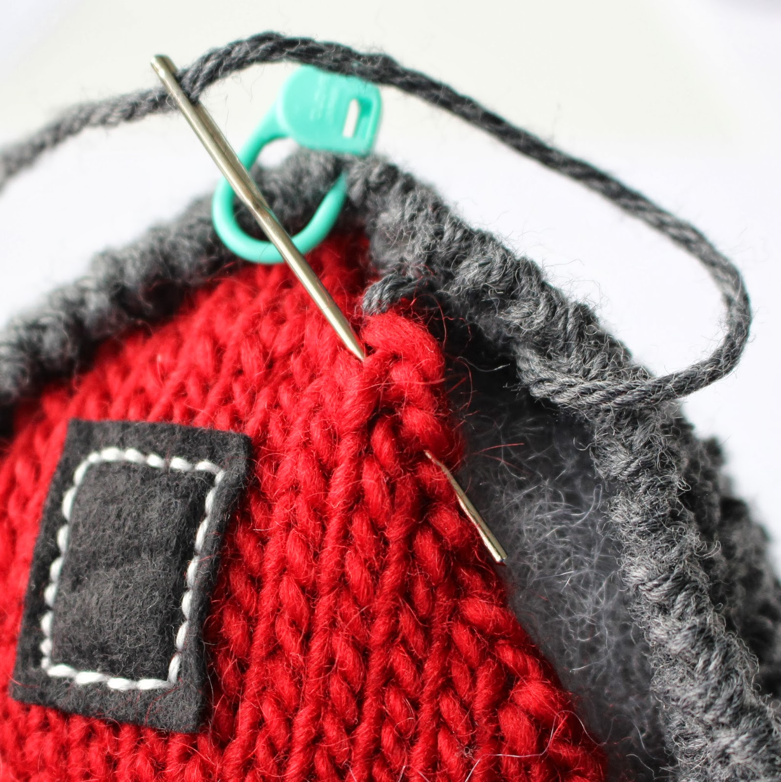Fifty four ten studio new knitting pattern the big red barn this is one of more than 30 tutorial photos included in the big red barn knitting pattern bankloansurffo Image collections