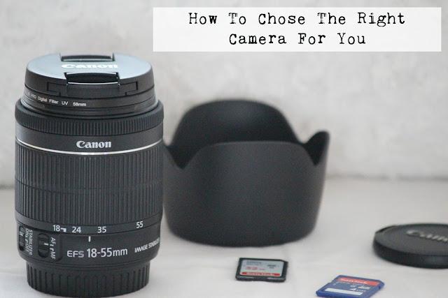 blogging camera recommendations lenses cannon