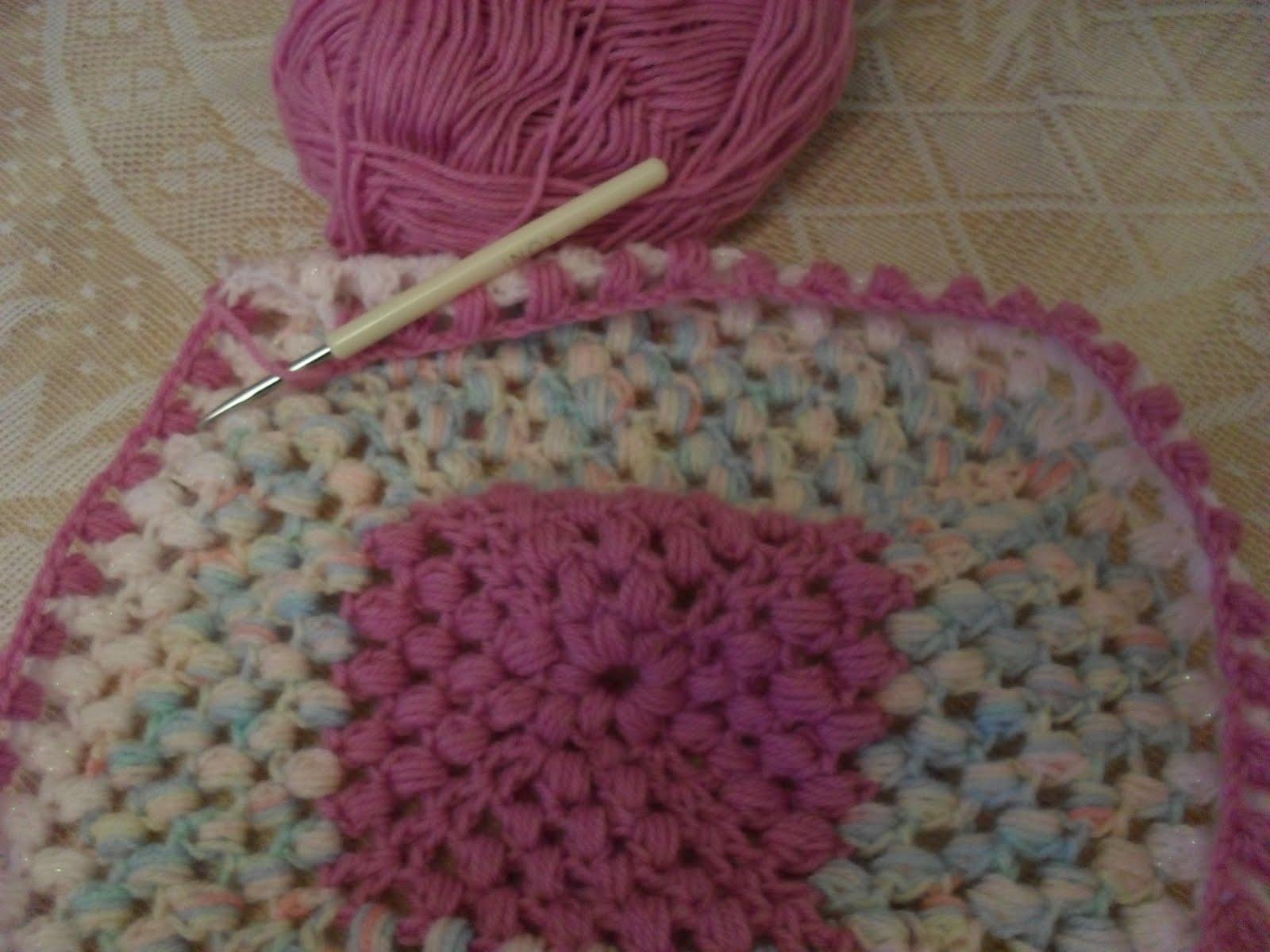 Crochet Stitches Cluster : tranquil heart: Wednesdays Workbox - Cluster Stitch Crochet Blanket