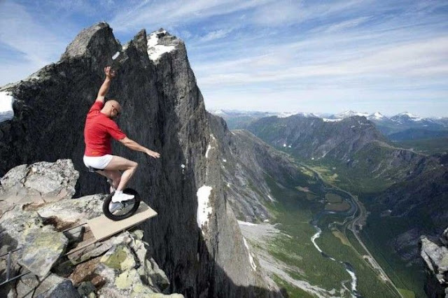 Spine Chilling Photos of Thrill Seekers