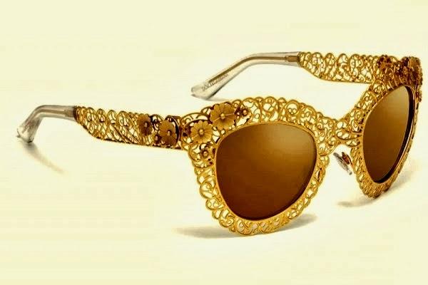 modern fashions: Dolce & Gabbana - Luxury Sunglasses-Gold ...
