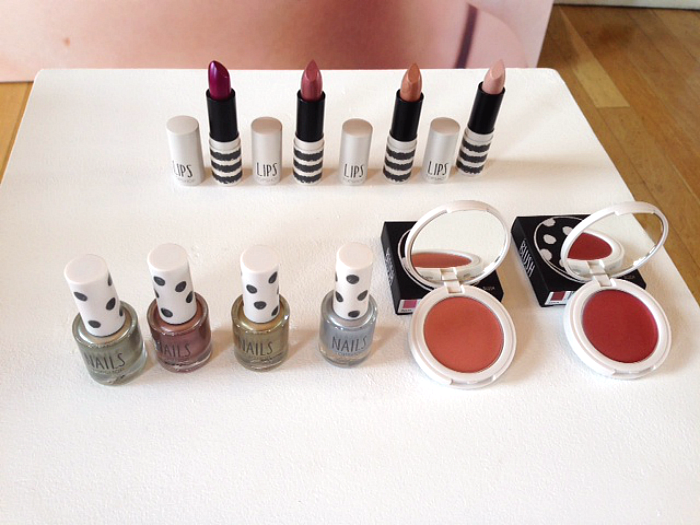 Topshop Beauty Molten metallics collection