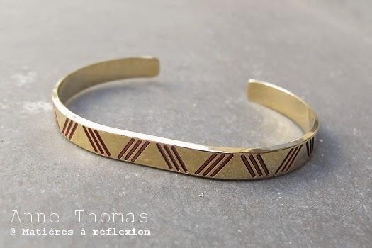 Bracelet graphique sur la boutique Anne Thomas en ligne
