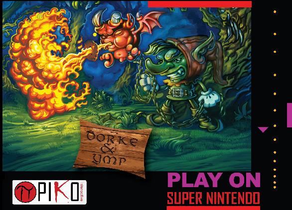 El juego recuperado para Super Nintendo, 'Dorke & Ymp', ya disponible para compra