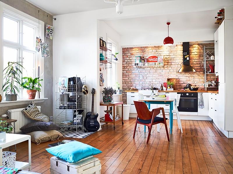 La petite fabrique de r ves en su de un petit deux - Petit appartement aux details vintages ...