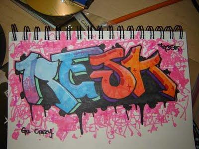 Graffiti Letters, graffiti blackbook