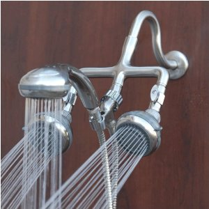 Best Captains Quarters Brushed Nickel Shower Head