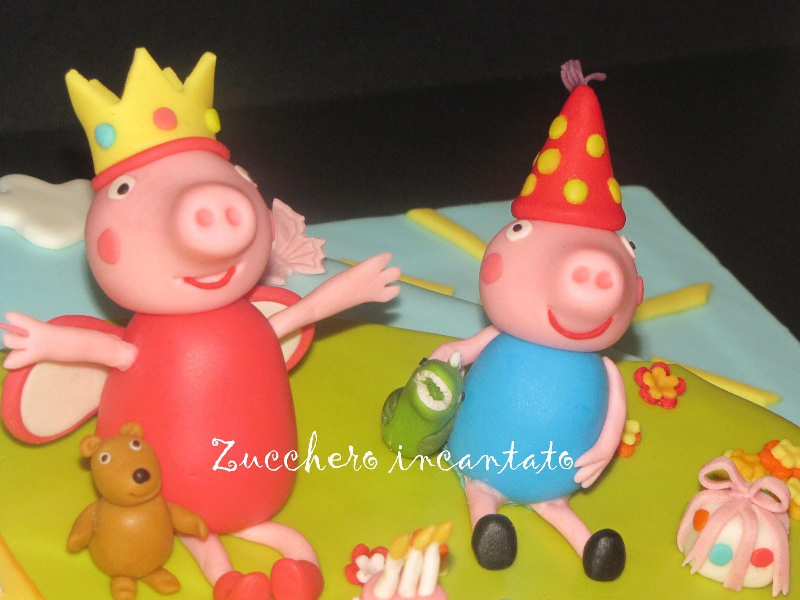 Princess Peppa Cake Topper