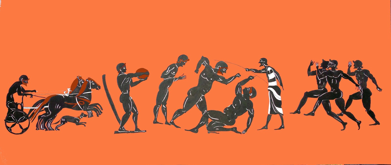 educacion fisica en la antiguedad: