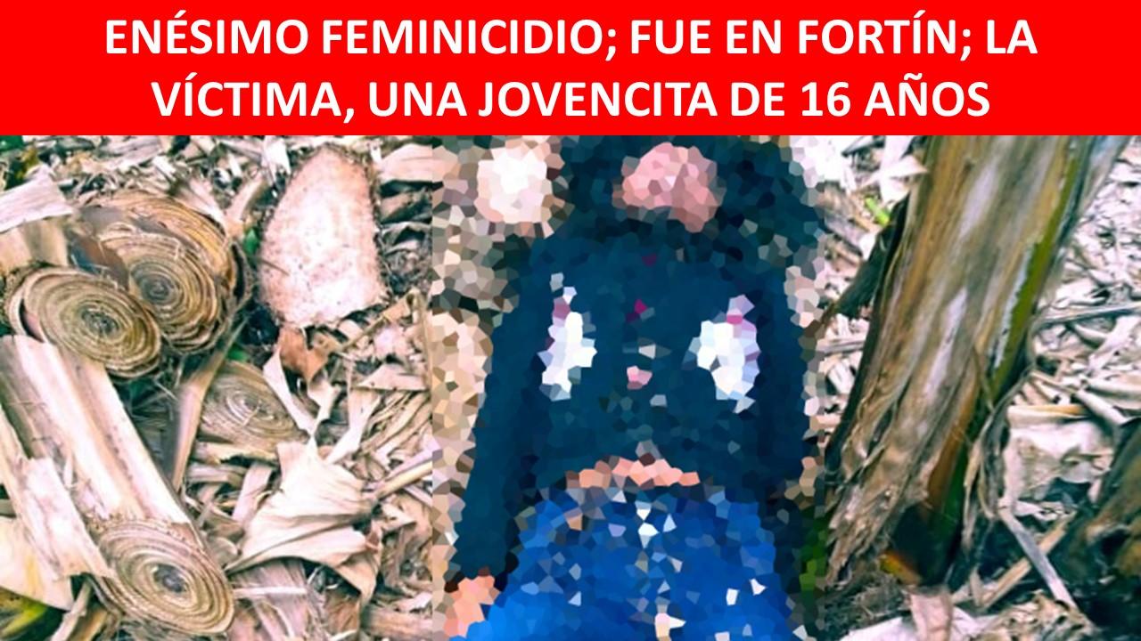 ENÉSIMO FEMINICIDIO
