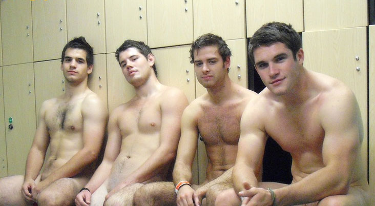 WetBoxersGuy X-Rated: Naked Locker Room Hotties