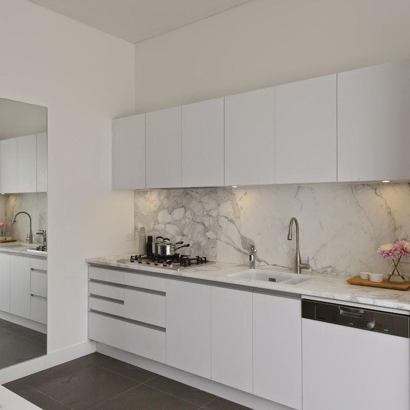 Carrara Marble Kitchen Benchtops: Our Kitchen Renovation - Before Photos!
