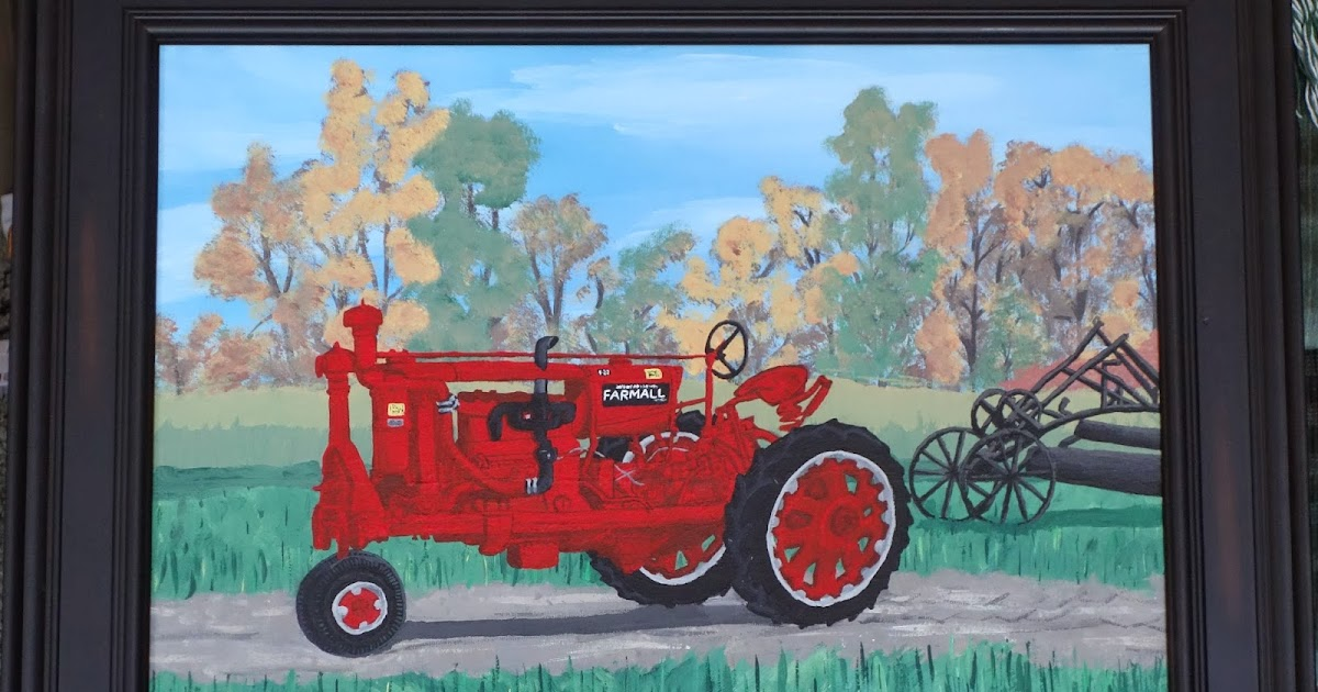 Farmall Tractor Painting : The question farmall f tractor painting