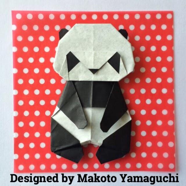簡単 折り紙 折り紙パンダの折り方 : origamilabo.blogspot.com
