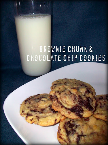 Double the Deliciousness: Brownie Chunk Chocolate Chip Cookies