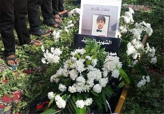 Pogrzeb ofiar zamachu w Qatif