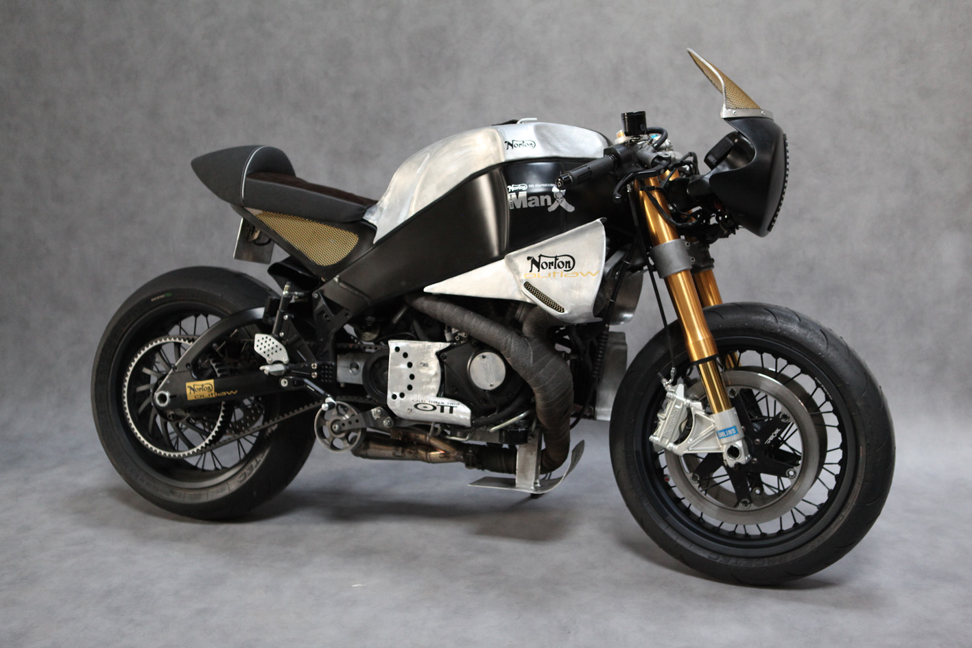 Buell norton manx neoretro return of the cafe racers for The norton