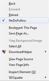 nodofollow - plugin untuk mensortir jenis link pada blog