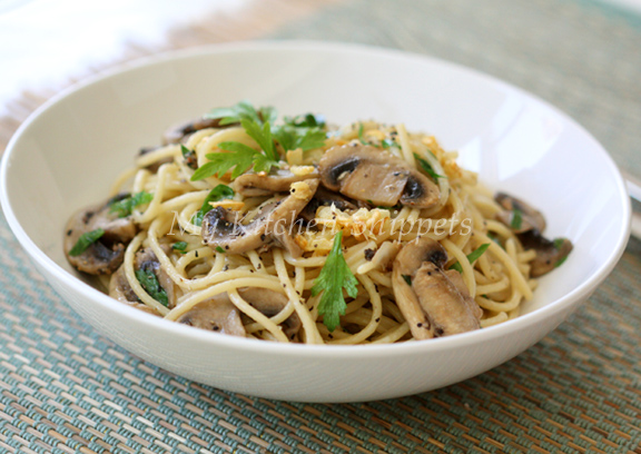 Chicken aglio olio recipes