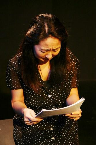 connie reading letter