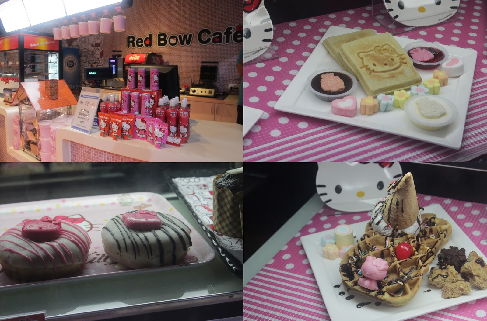 Hello Kitty Food Red Bow