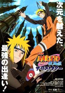 Naruto Shippuden Pelicula 4: The Lost Tower audio latino