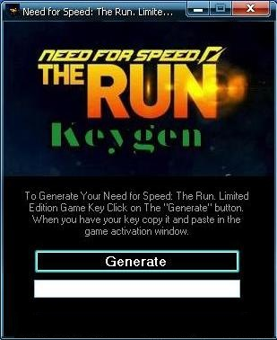 Need For Speed The Run Limited Edition Crack Activation Key Download
